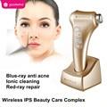 Galvanic Massager Ultrasonic Ultrasound Photon Skin Facial Beauty Machine Face Cleanser Anci-acne Facial Rejuvenation Device