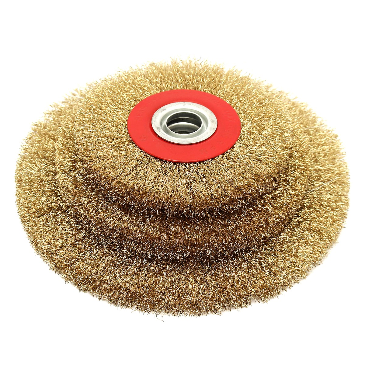 5 6 8 Inch Grinding Abrasive Steel Wire Wheel Grinder 5 6 8'' Wire Brush Fine With Reducers Cleaning Polishing Different Sizes