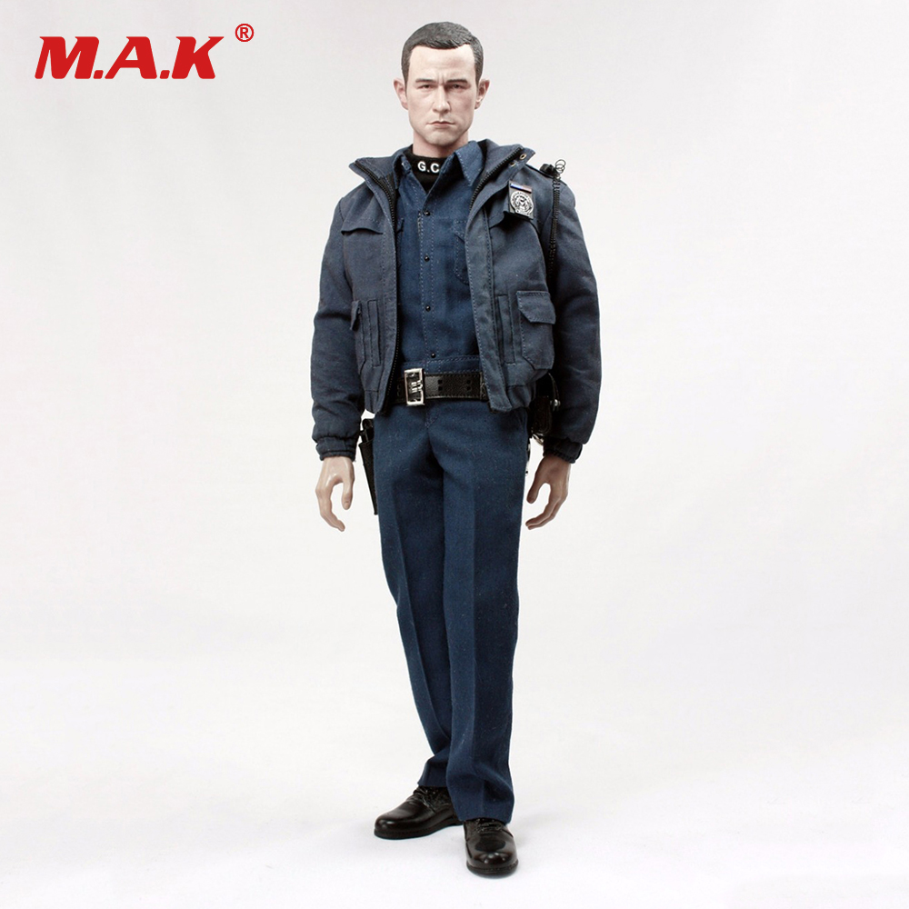 ATX003 1:6 Batman Robin Gotham Police Officer Uniform Sets DIY Male Clothes For 12 Action Figures Accessories Brinquedos