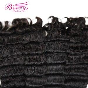 Image 5 - Berrys mechones de cabello largo ondulado suelto, moda, 10 28 mechones de cabello virgen pulgadas, 3 unidades/lote, 100% extensiones de cabello humano sin procesar