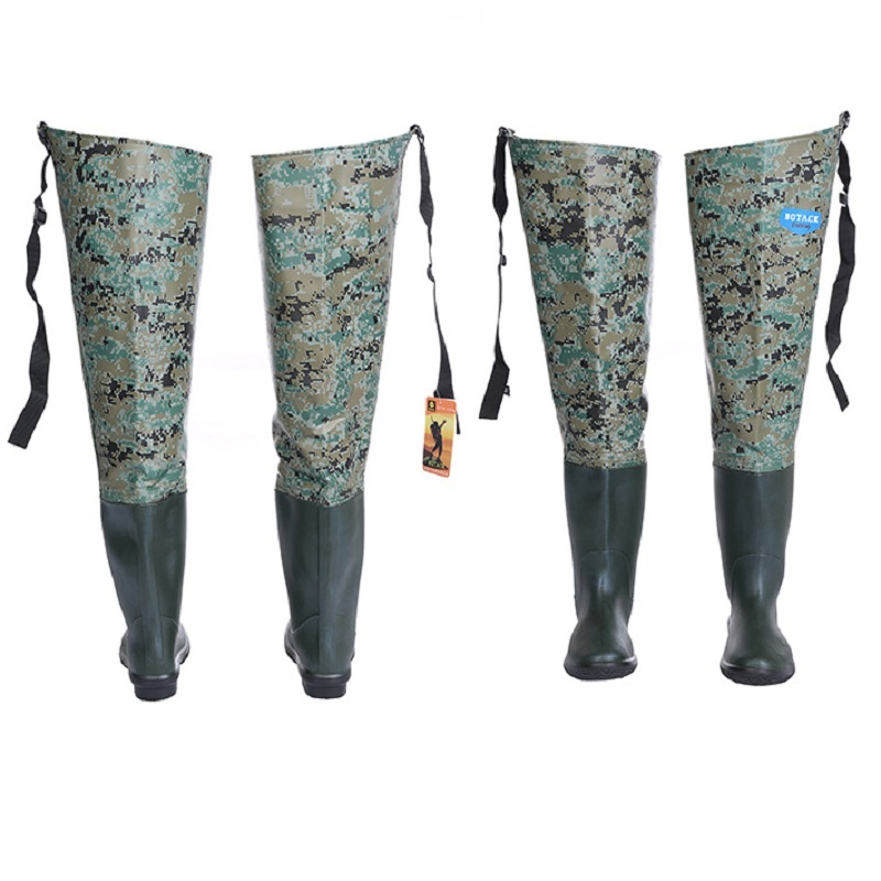 Image 4 - Waterproof Boots Hunting Boots Waders For Fishing Waders Fishing Winter Fishing Boots Wading Shoes Rubber Waders Rubber Boot-in Fishing Waders from Sports & Entertainment