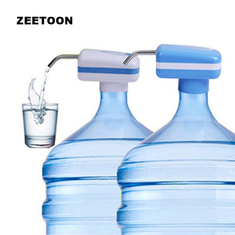 무선 병 수도 펌프 장치 전기 압력 물 디스펜서 수도 펌프 자동 물 공급 여행 야외 기기