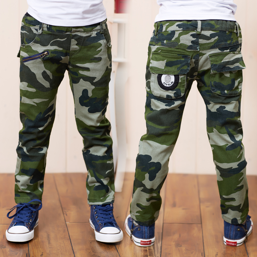 Green Cargo Pants For Boys | Pant So