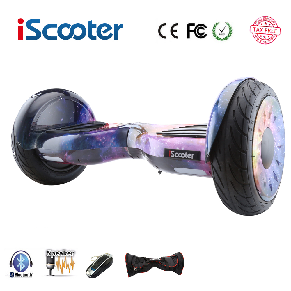 iscooter hoverboard 10 inch bluetooth two wheel smart self. Black Bedroom Furniture Sets. Home Design Ideas