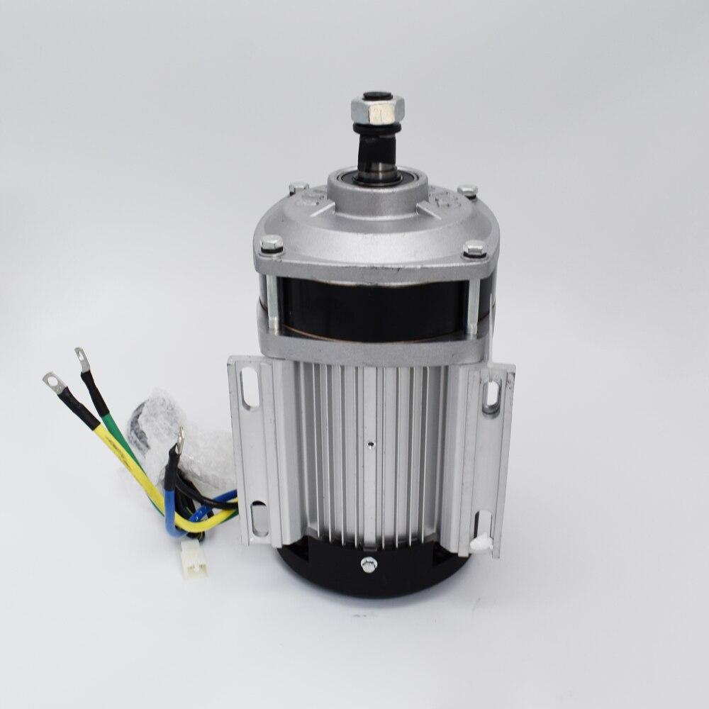 Купить с кэшбэком Electric vehicle platform  handling a flat sprocket reducer DC Motor BM1412ZXF1000W48V60V