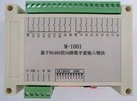 스위칭 입력 데이터 수집 모듈 rs485 통신 보드 수집기 16 웨이 절연 di 건식 접촉