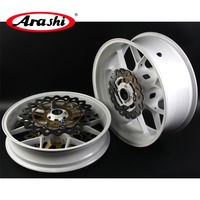 Arashi For HONDA CBR1000RR 2006 2016 Front Rear Wheel Rim Set Brake Disc Rotors CBR 1000 RR 1000RR CBR1000 06 07 08 09 10 11 12