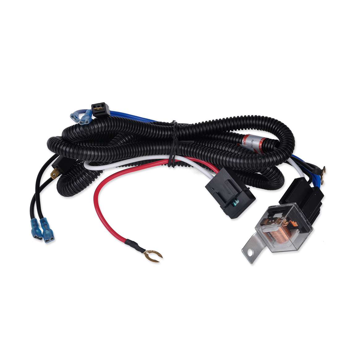 citall 12v car truck grille mount blast tone horn wiring harness relay kit for ford toyota suzuki peugeot kia honda mazda audi in cables adapters sockets  [ 1110 x 1110 Pixel ]