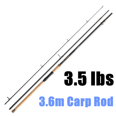 High Quality 3.6m Fishing Carp Rod 40-60g Lure Weight 3Section Fishing Rod Carp Rod