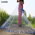 Lawaia American Hand Cast Net Diameter 2.4m-7.2m Fishing Net 4.2m Fishing Network 3m Fishing Nets Or No Pendant Netting fish