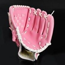 SPORTSHUB Спорт на открытом воздухе коричневые бейсбольные перчатки софтбол практическое оборудование левая рука для взрослых мужчины женщины тренировки CS0019