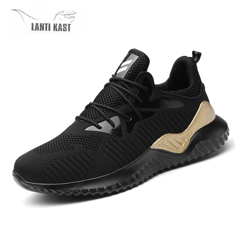 Mesh Breathable Lace Up Fashion Sports Sneakers Men Casual Running Shoes Men 39 s Summer Sneakers кроссовки in Running Shoes from Sports amp Entertainment