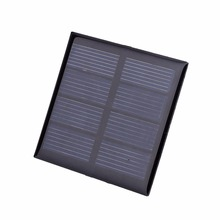 MVpower Universal 2V 0.64w Standard Resin Solar Panels Polycrystalline Silicon DIY Battery Charge Module 60x60mm Mini Solar Cell
