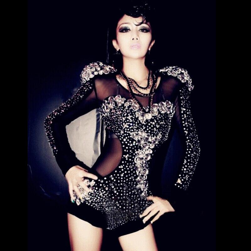 Новейшие Стразы 2018 Джаз для современных танцев костюм Мода Высокое качество платье для танцев этап шоу платья женщин