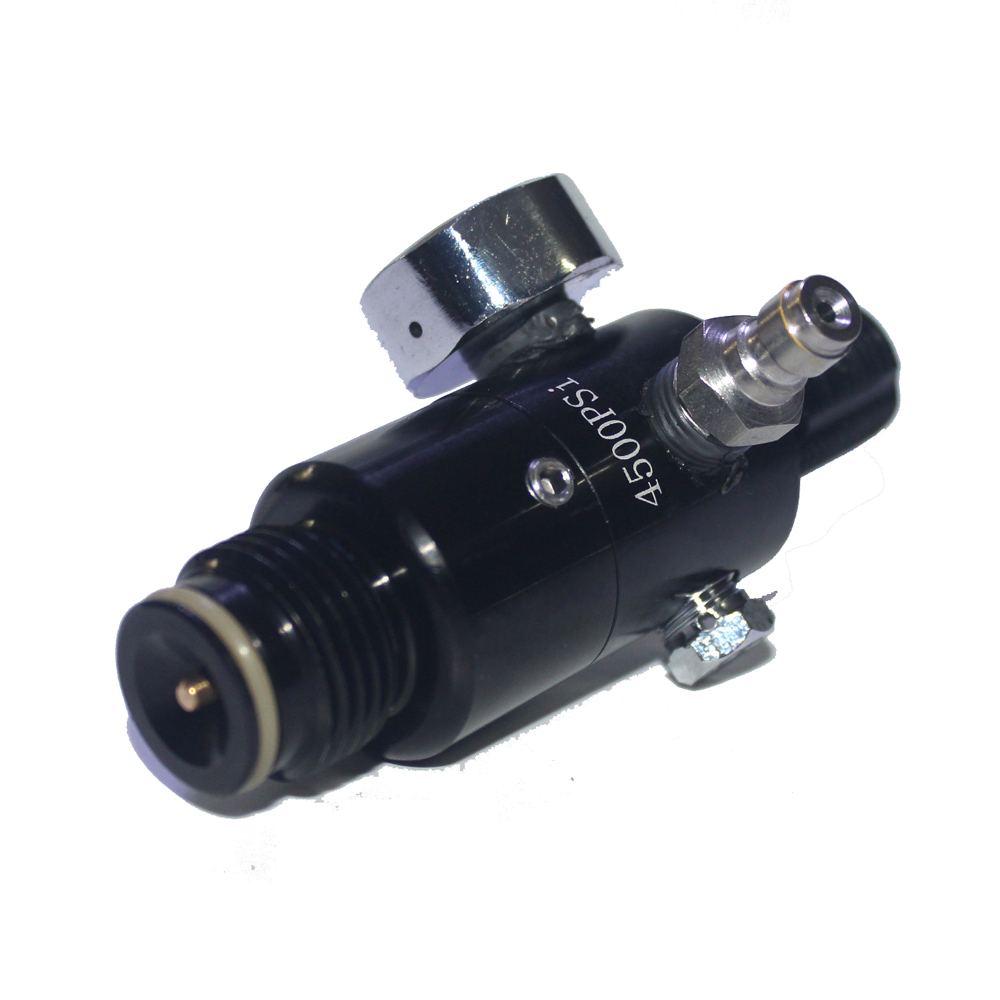 Image 2 - New Paintball Air Gun Airsoft PCP Air Rifle HPA 4500psi Compressed Air Tank Regulator Valve Output Pressure M18*1.5-in Paintball Accessories from Sports & Entertainment