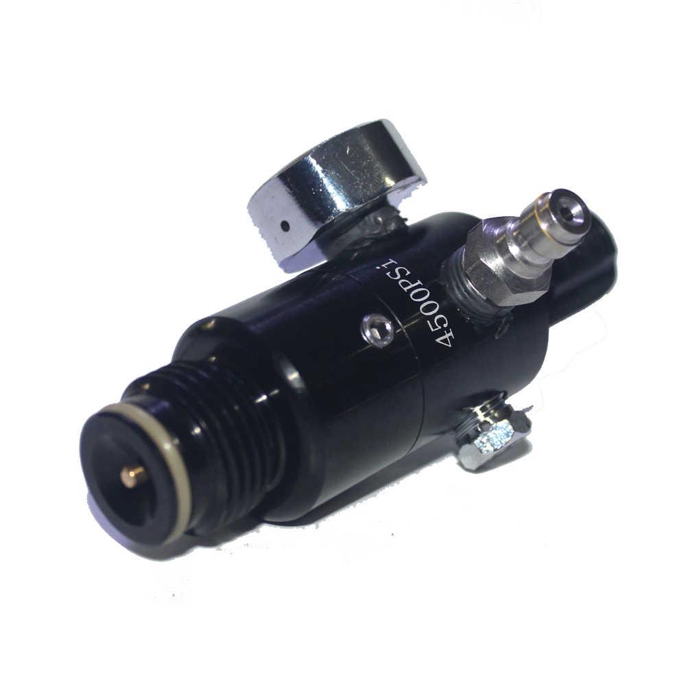 Nueva pistola de aire de Paintball Airsoft PCP Rifle de aire HPA 4500psi válvula reguladora de tanque de aire comprimido presión de salida M18 * 1,5