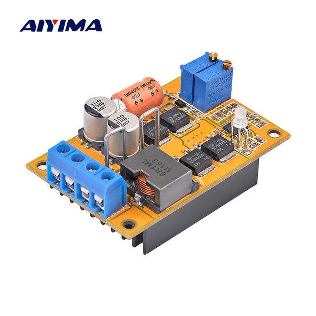 Regulador de Panel Solar Aiyima MPPT controlador de batería de carga 9 V 12 V 24 V interruptor automático 5A