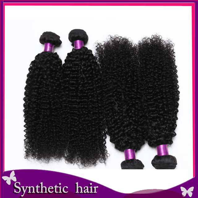 Thin Fine Hair Styles Kinky Curly Hair Weave Weft In Hair Extensions