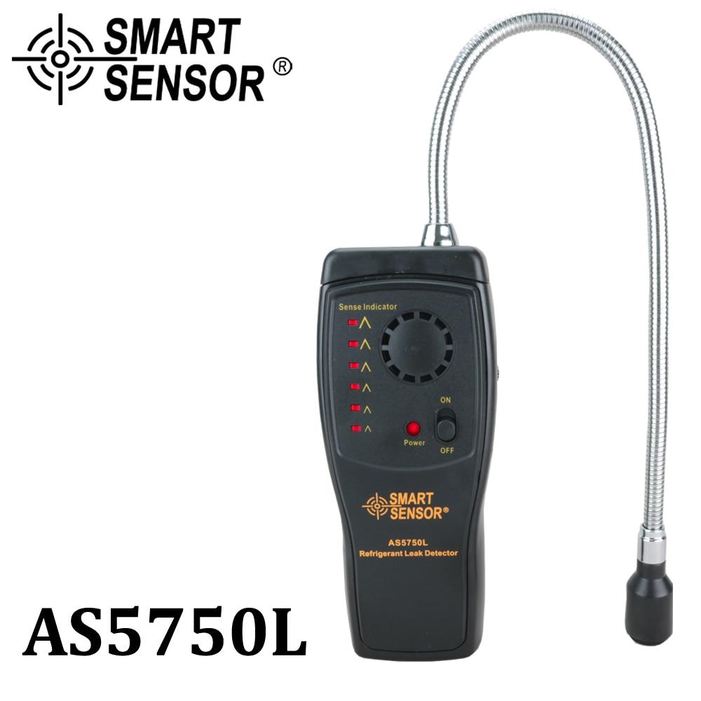 Smart Sensor As5750l Kältemittel Leck Detektor Halogen Freon Cfcs Hcfcs Hfcs Gas Analyzer Tester Klimaanlage Monitor Messung Und Analyse Instrumente