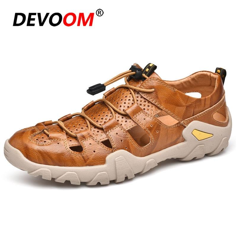 Hommes Sandales sabots hommes d'été Sandales plage Sandales chaussures pour hommes hommes Sandales Crocse haute qualité respirant sabots léger
