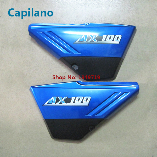 motorcycle ax100 fender edge fuel tank side cover panel battery