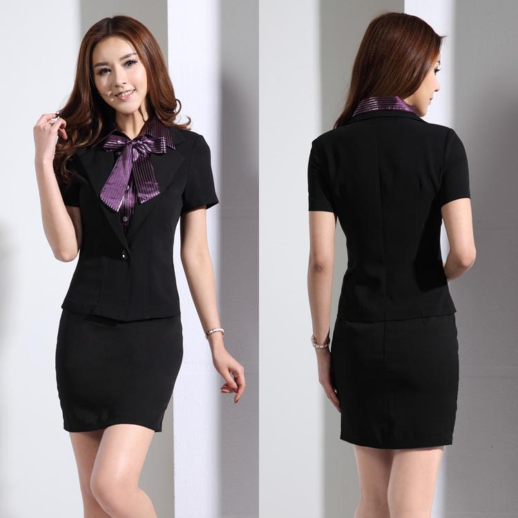 Popular office uniform designs buy cheap office uniform for Office uniform design 2014