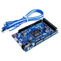 Free Shipping Due R3 ARM Version Main Control Board With Usb Cable For Arduino