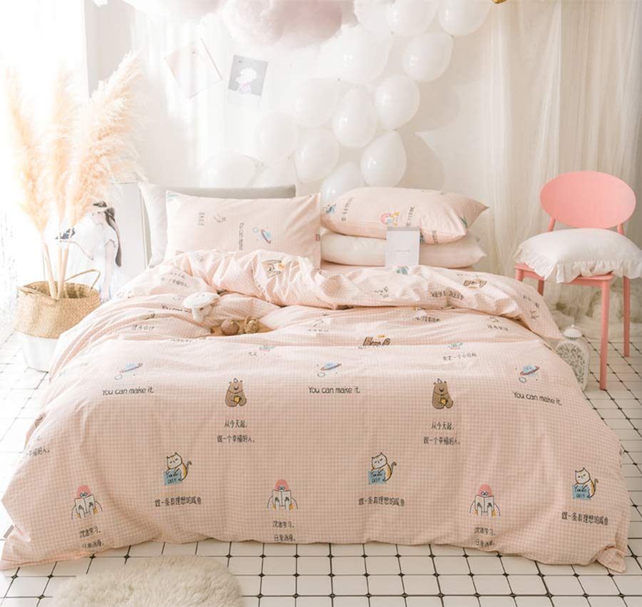 Cute character bedding set teen kid girl,twin full queen ...