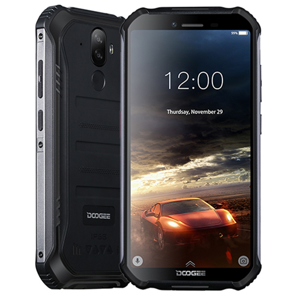 Фото. DOOGEE S40 4 gnetwork прочный мобильный телефон 5,5 дюймов Дисплей 4650 мА/ч, MT6739 4 ядра, 3 Гб оп