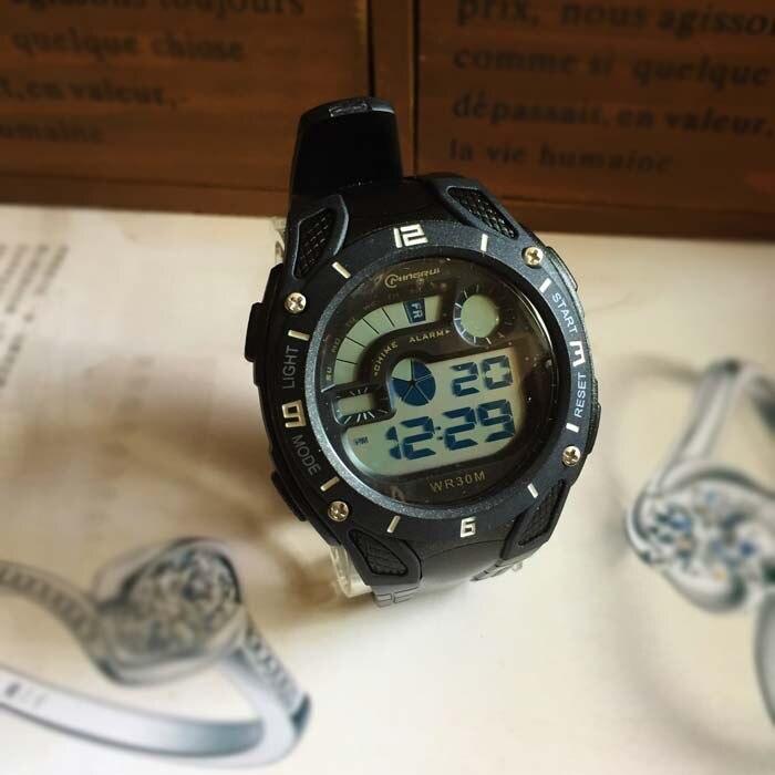Unisex Montre Femme Reloj de Mujer de cuero de acero inoxidable relojes de las mujeres envío rápido - 2
