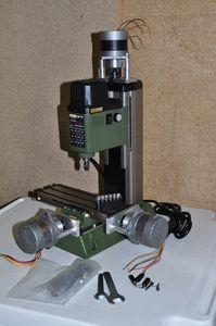 Image 4 - NEMA17 шаговый двигатель PROXXON MF70 монтажный комплект для DIY CNC преобразования 5 мм Размер отверстия
