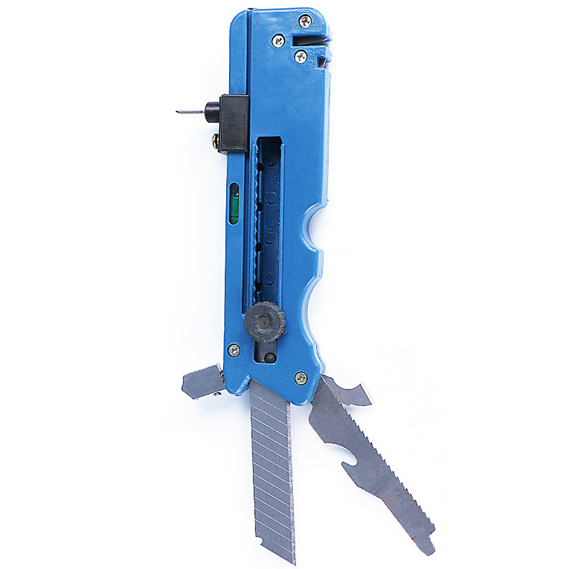 Professiona Glass Cutter Six Wheel Metal Cutting Kit Tool With Measure Ruler Multi-functional Glass Cutting Tools