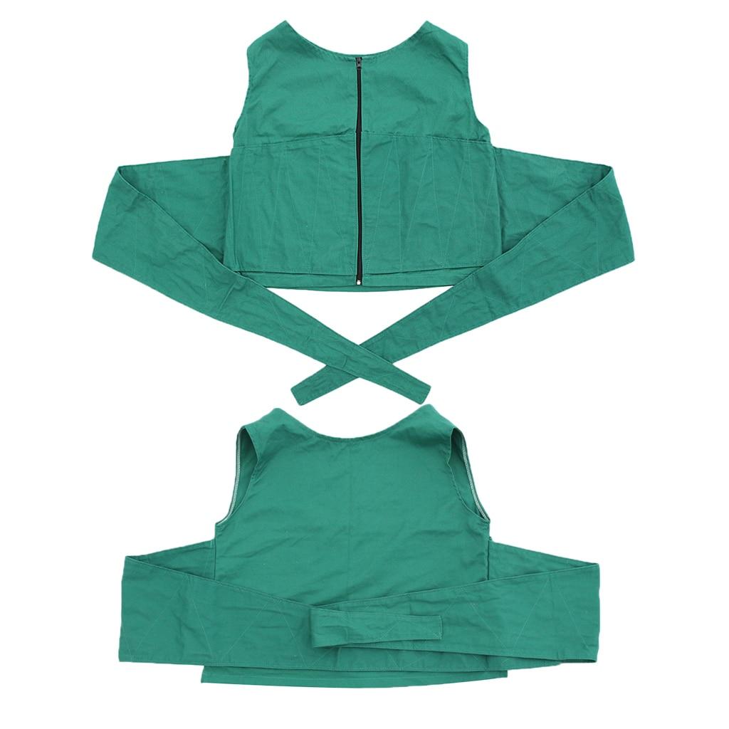 2pcs Soft Non Slip Vest Restraint wi Bed Chair Prevent Patients Fall