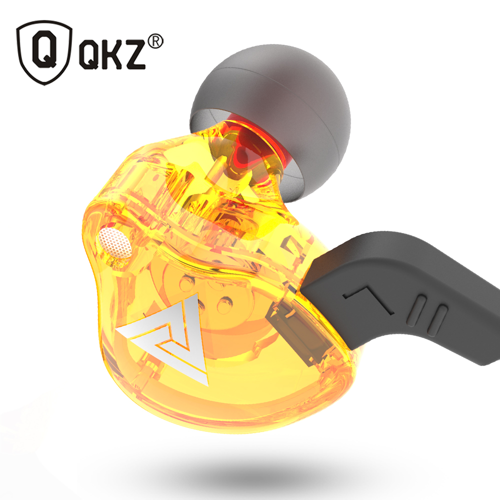 QKZ AK6 Headphones Earphone for Phone Xiaomi with Microphone for iPhone In Ear Earphone Stereo Race Sport Headset sport