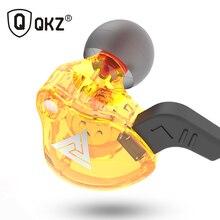 QKZ AK6 casque écouteur pour téléphone Xiaomi avec Microphone pour iPhone dans loreille écouteur stéréo course Sport casque sport