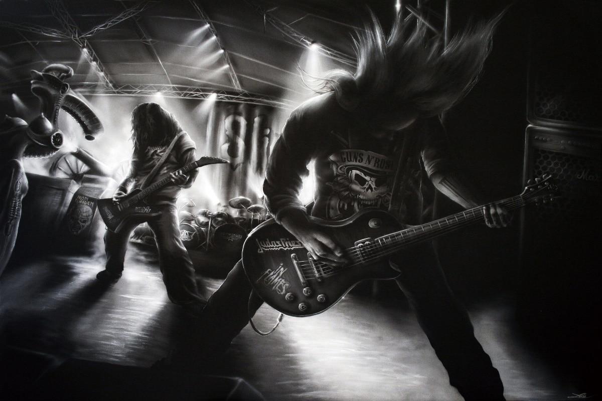 Dethklok Heavy Metal Hard Rock Music Band Metalocalypse