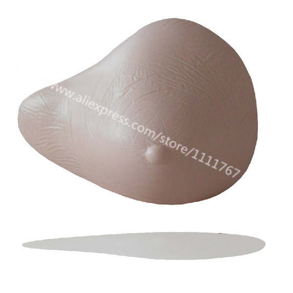 1 Piece for mastectomy women shemale health care AS160 34/75B Light weight fake false breast cancer fake boobs breast