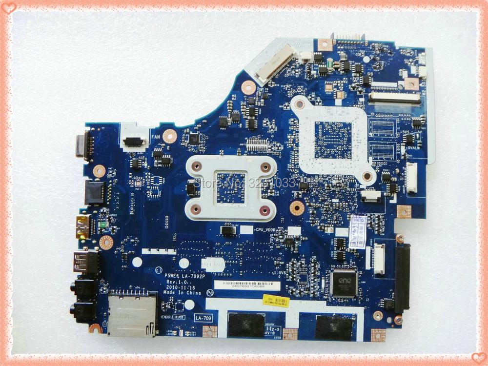 Image 2 - LA 7092P for Acer 5253 5250 NOTEBOOK P5WE6 LA 7092P for Acer Aspire 5253 5250 Laptop Motherboard MBNCV02001 test 100% work-in Laptop Motherboard from Computer & Office on