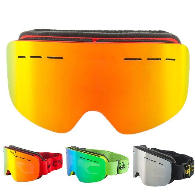 7d6d5e42fcc anti fog double lens ski goggles snowboard glasses men women gafas de esqui  occhiali sci winter