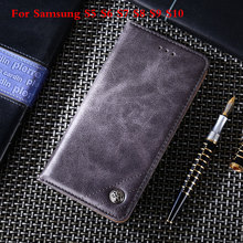 Phone Case for Samsung Galaxy S5 S6 S7 S8 S9 S10 S6 Edge For S7 Edge Note5 C5 C7 S9 S10 S8 Plus Leather Flip Wallet Case все цены