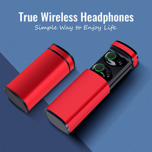 TOP Quality light TWS bluetooth 5.0 headset mini wireless headphones with mic sport running earphone for phone xiaomi iphone