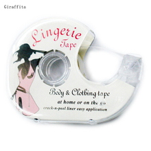 Fashion tape 3 Meters  Double Sided Adhesive Safe Lingerie Tape Body Clothing Clear Bra Strip Medical Waterproof Tape V-neck