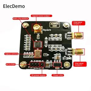 Image 2 - Модуль генератора сигналов AD9834, модуль генератора сигналов с треугольной синусоидальной волной, плата генератора сигналов