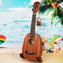 """Высокое качество 2"""" Гавайские гитары укулеле в форме ананаса сопрано Гавайские гитары укулеле красного дерева Ukelele 4 нейлоновыми струнами палисандр гриф"""