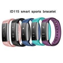 ID115HR smart bluetooth водонепроницаемые спортивные браслет veryfit2.0 мониторинга сердечного ритма информации толчок движение метр будильник