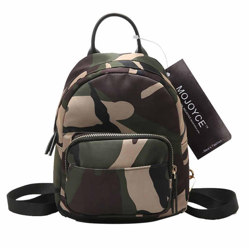 0f78032fa3db Модный нейлоновый мини-рюкзак женский рюкзак с принтом через плечо школьные  сумки для девочек-