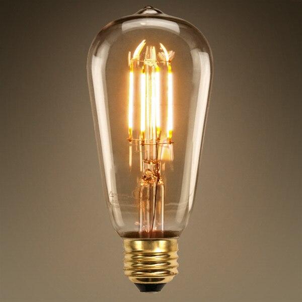Lâmpadas Led e Tubos pode ser escurecido, led filamento Temperatura de Cor : 2700k