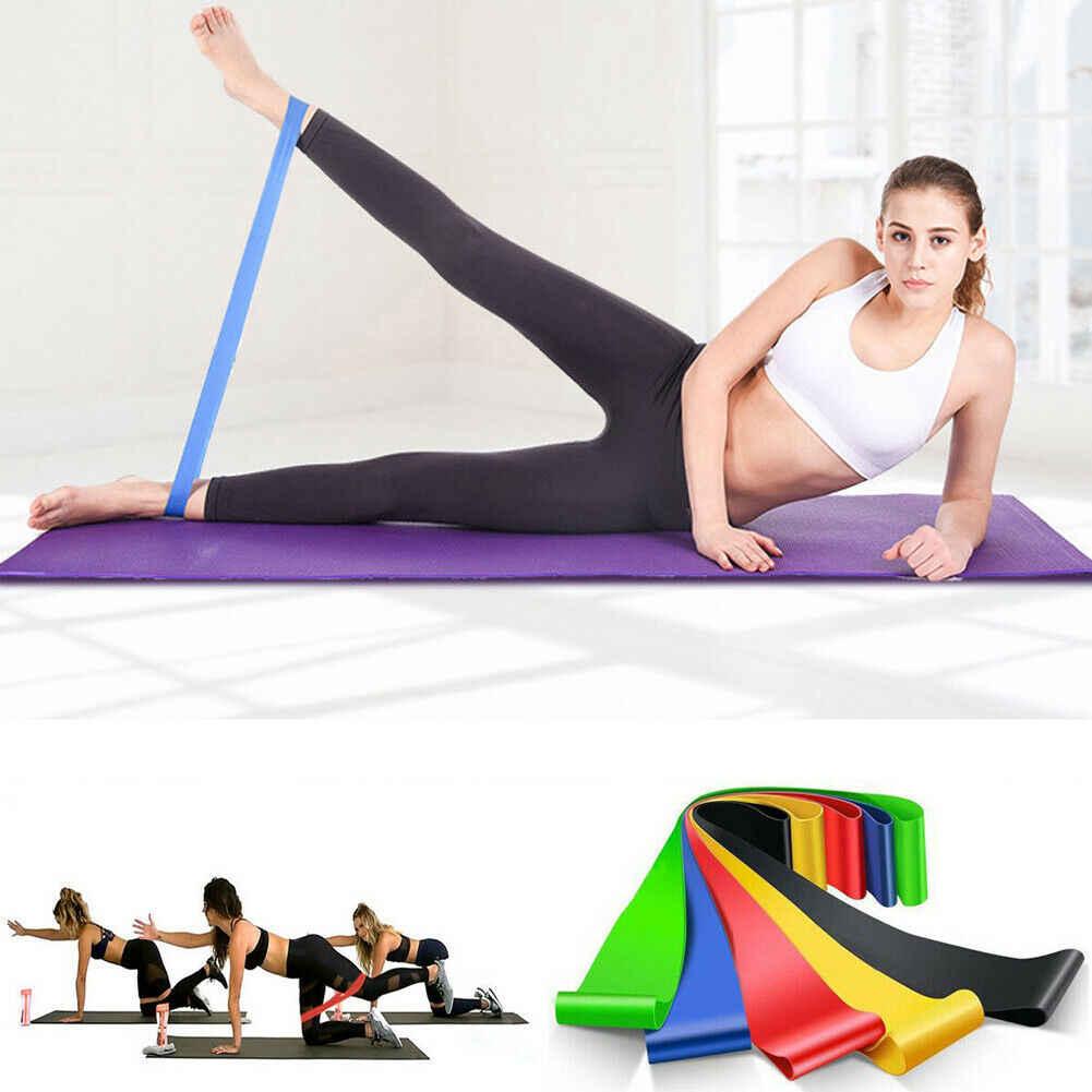 Yoga Esercizio Fascia di Resistenza Loop Allenamento Croce Fit di Yoga di Forma Fisica Booty Bande di Gomma di Sport di Formazione Allenamento Fasce Elastiche
