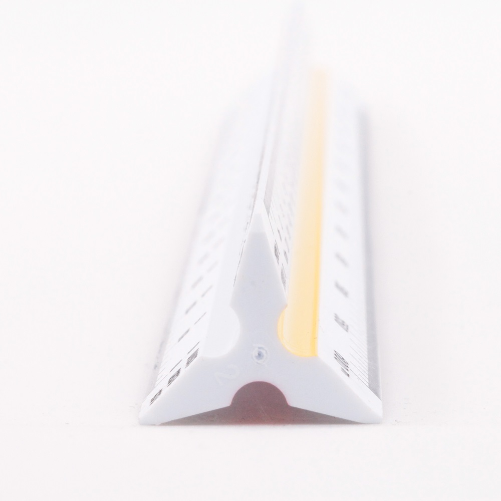 30cm Scale Ruler Architectural Drawing Design Scale Triangular Ruler Variety Scale  6 sizes
