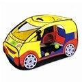 [PCMOS] Portable Kids Niños de Interior Jardín Carpas Playhouse Niños Coches Vehículo de Forma Plegable Carpas Juguete océano Piscina de Bolas T1132